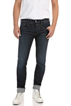 Replay Hyperflex Re-Used Jeans - Dark Wash