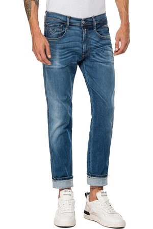 Replay Hyperflex Anbass BIO Edition Slim Fit Jeans - Rich Mid