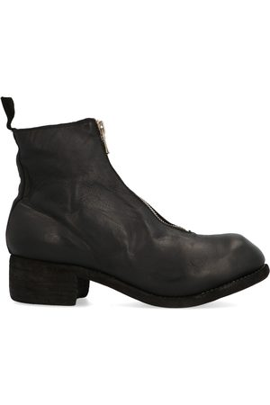 GUIDI WOMEN'S PL1SHFGBLKT OTHER MATERIALS ANKLE BOOTS
