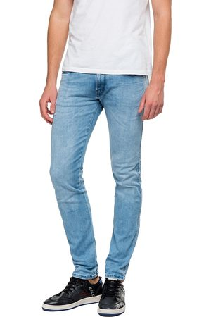 Replay Hyperflex Anbass CLOUDS Edition Slim Fit Jeans - Light