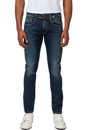 Replay Anbass Hyperflex Jean - NEW Black 04D-007