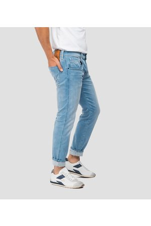 Replay Anbass Hyperflex X-L.I.T.E Reused Jeans - Light