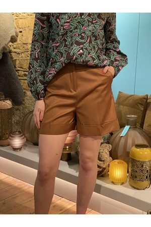 pennyblack Tailored Shorts in Cocoa