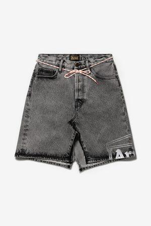 ARISE ARISE Temple Acid Wash Deconstructed Skirt