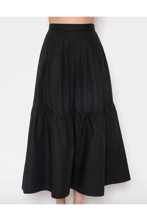 Giambattista Valli Cotton Poplin Full Midi Skirt