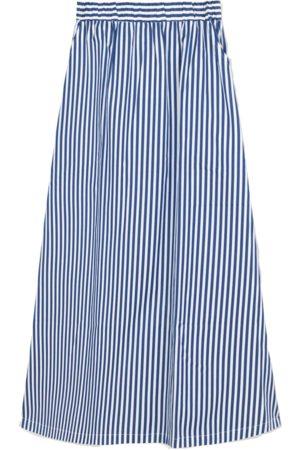 Libertine Libertine Box Skirt Royal Stripe