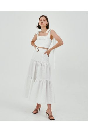 C/meo Collective Ivory Value Skirt