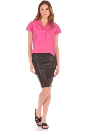 J Brand Leather Skirt