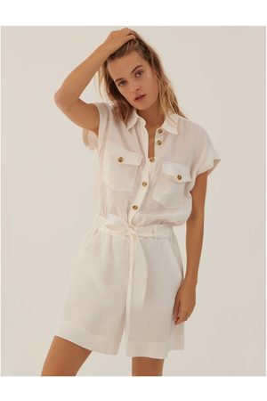 MARELLA Women Playsuits - Nardo SS Belted Playsuit