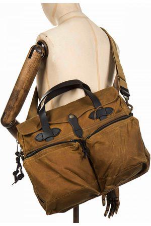 Filson Women Purses - 24-Hour Tin Briefcase - Dark Tan