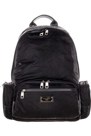 Dolce & Gabbana Nero Sicilia dna nylon backpack