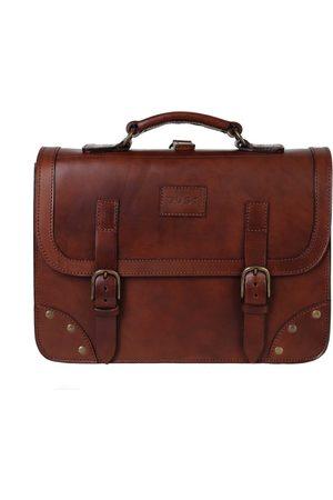 The Dust Italy Mod 101 Business Bag Cuoio Havana Havana