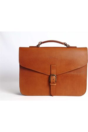 The Dust Italy Mod 122 Briefcase Cuoio Cuoio