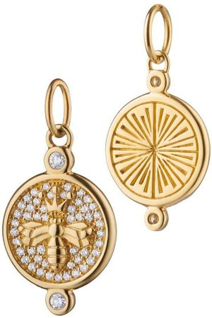 Monica Rich Kosann Pave Diamond Bee Charm