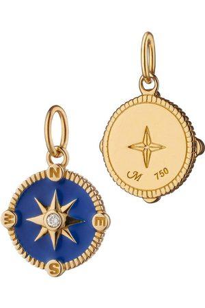 Monica Rich Kosann Royal Blue Enamel Compass Charm