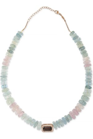 JACQUIE AICHE Purple Tourmaline Beaded Necklace