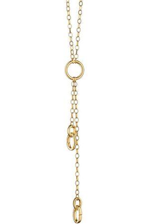 Monica Rich Kosann 3 Charm Station Necklace