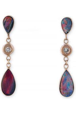 JACQUIE AICHE Teardrop Austrailian Opal Earrings