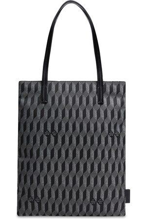 AU DEPART Women Tote Bags - L'europe Monogram Reflective Tote Bag