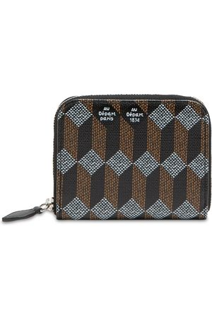 AU DEPART Le Petit Coated Canvas Wallet