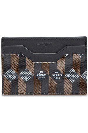 AU DEPART Women Wallets - Monogram Coated Canvas Card Holder