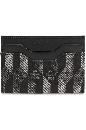 AU DEPART Monogram Jacquard Card Holder