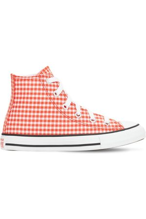 Converse Girls Sneakers - Gingham Chuck Taylor All Star Sneakers