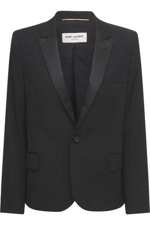 Saint Laurent Wool Tuxedo Jacket