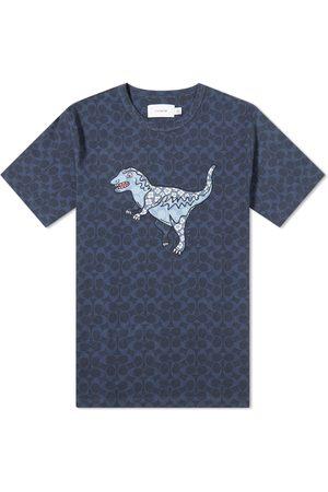 Coach Men T-shirts - Signature Rexy Tee
