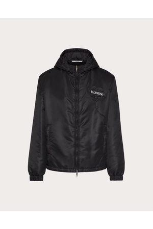 VALENTINO Men Sports Jackets - Men's Garden Nylon Windbreaker Man / 100% Poliammide 46