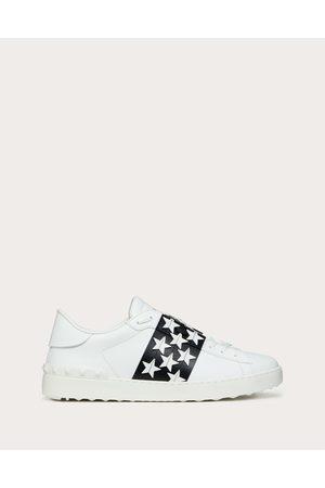 VALENTINO GARAVANI Men Sneakers - Open Sneaker With Stars Man / 100% Pelle Di Vitello - Bos Taurus 40