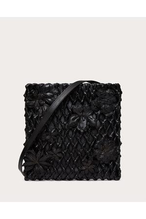 VALENTINO GARAVANI Men Bags - Valentino Garavani Atelier Bag 06 Lace Edition With Shoulder Strap Man 100% Lambskin OneSize