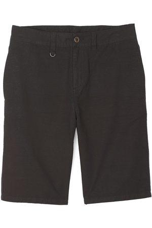 Oxbow Men Stretch Pants - Ortango Overdyed Plain Stretch 32 Noir