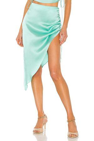 Amanda Uprichard X REVOLVE Aviette Skirt in Mint.
