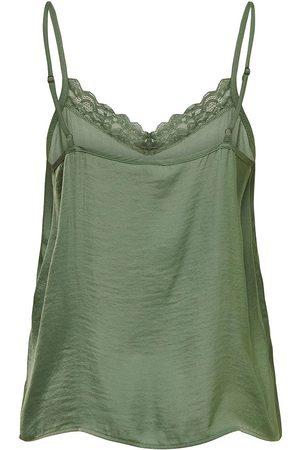 JDY Appa Lace Braces T-shirt 34 Sea Spray / Detail Dtm Lace