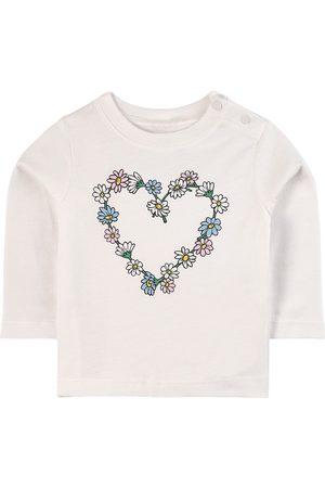 Stella McCartney Kids - Daisy T-Shirt - Girl - 6 months - - Long sleeved t-shirts