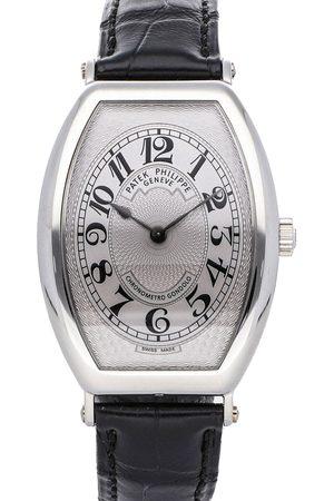 Patek Philippe Men Watches - Platinum Gondolo 5098P-001 Men's Wristwatch 32 x 42 MM