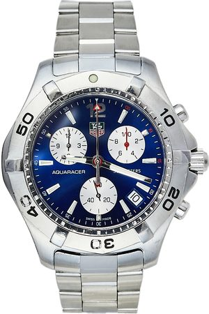 Tag Heuer Men Watches - Stainless Steel Aquaracer CAF1112 Men's Wristwatch 41 mm