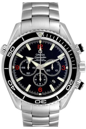 Omega Stainless Steel Seamaster Planet Ocean Chronograph 2210.51.00 Men's Wristwatch 45 MM
