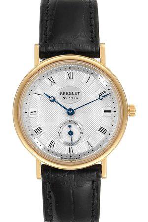 Breguet Men Watches - 18K Yellow Gold Classique 3910BA Men's Wristwatch 34 MM