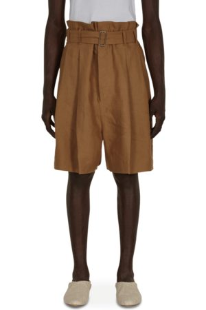 Hed Mayner Pleated shorts CINNAMON XS