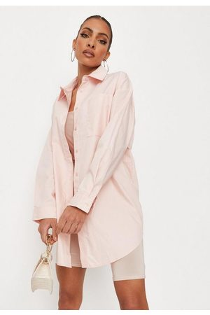Missguided Poplin Extreme Oversized Shirt