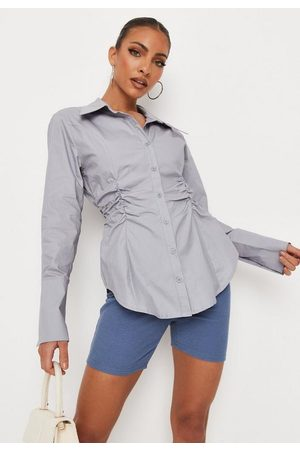 Missguided Slim Fit Poplin Shirt