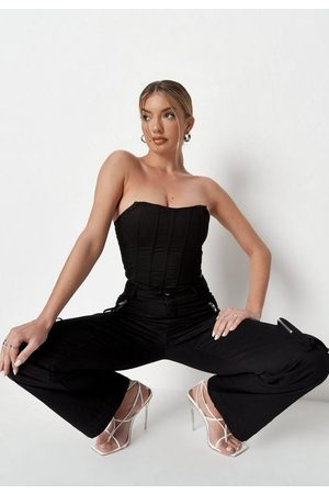 Missguided Co Ord Bandeau Corset Top