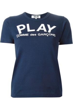 Comme Des Garçons Play Logo print T-shirt