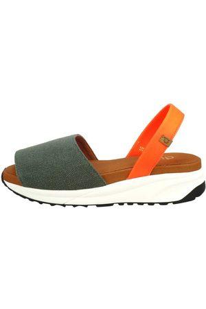 Duuo Shoes Aoiama EU 39 Dark Green / Orange / Brown / White
