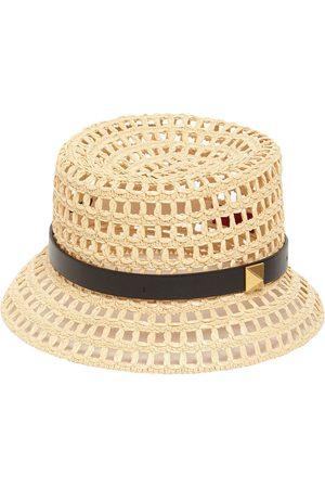 VALENTINO GARAVANI Roman Stud Woven Bucket Hat