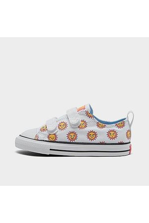 Converse Girls' Toddler Sun Graphic Easy-On Chuck Taylor All Star Casual Shoes in / Size 4.0 Canvas