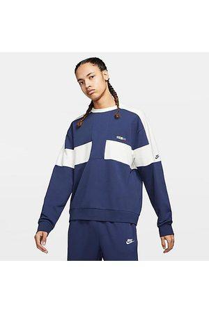 Nike Men's Sportswear Reissue USA Rowing Crewneck Sweatshirt in /Midnight Navy Size Small Cotton/Polyester