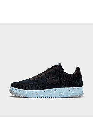 Nike Men's Air Force 1 Crater Flyknit Casual Shoes in / Size 7.5 Knit/Linen